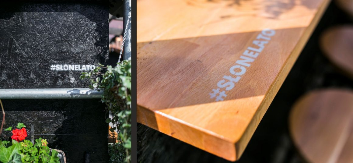 drewno, bar lato