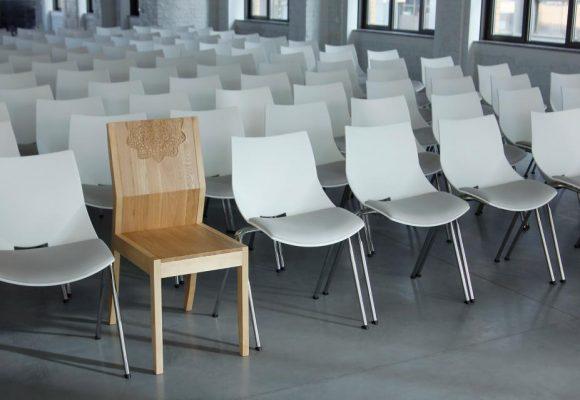dizajn, projekt, sklejka, krzesło
