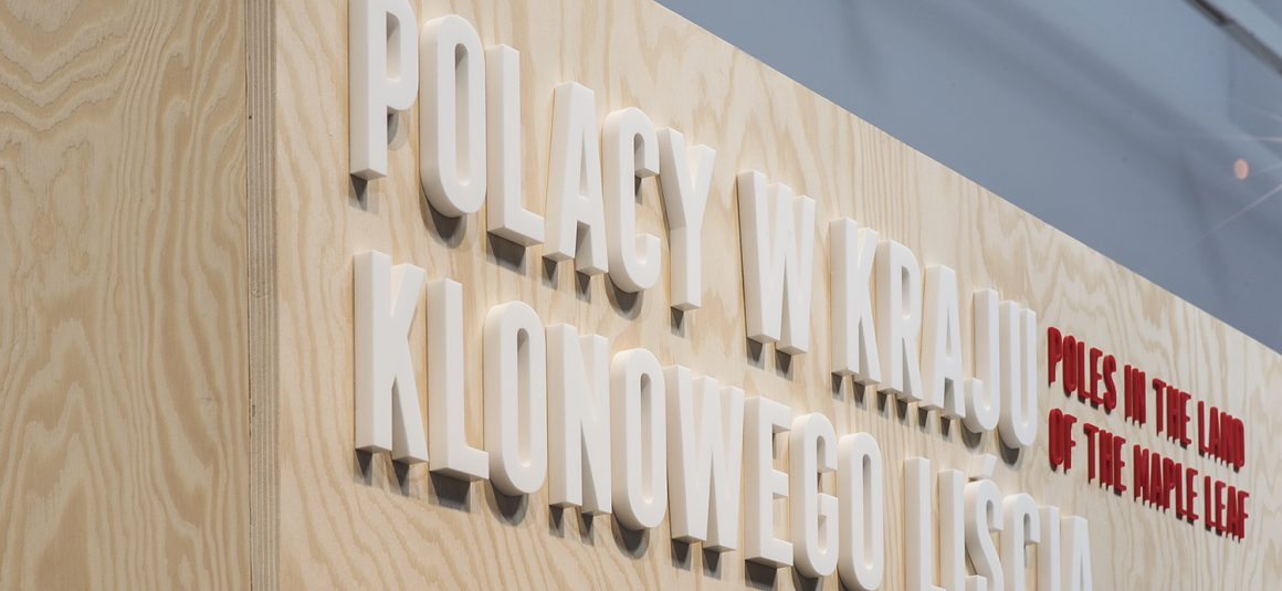 wystawiennictwo, wystawa muzeum emigracji, sklejka, projektowanie wystaw