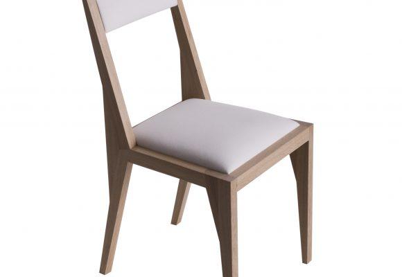 dizajn, projekt, sklejka, krzesło, dąb, wzornictwo