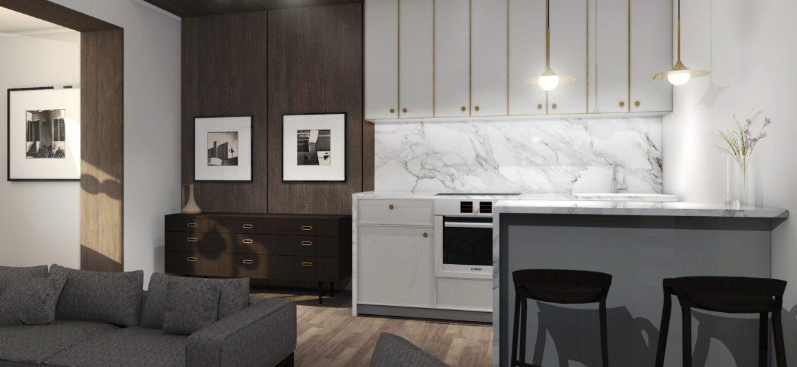 projekt kuchni, dizajn, projekt, design, projekt wnętrza, meble, kuchnia