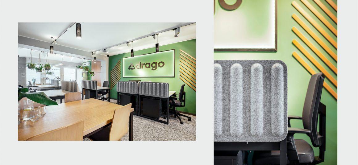 projekt wnętrza, przestrzeń biurowa, miejsce pracy