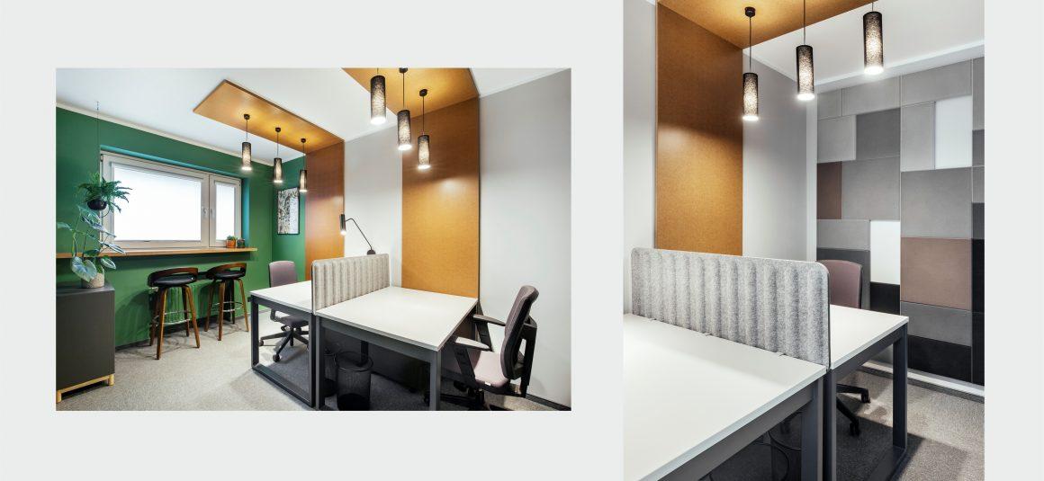 biuro projekt, miejsce pracy, projekt wnętrza biura