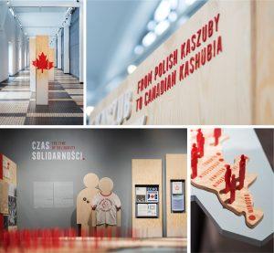 projket wystawy kanada design